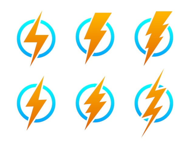 Blitzsymbole -