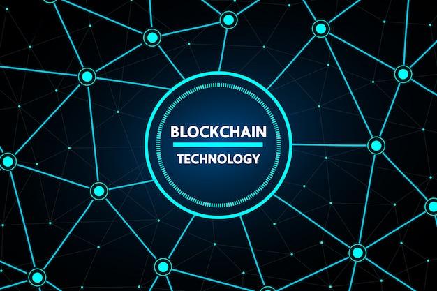 Blockchain abstrakte technologie