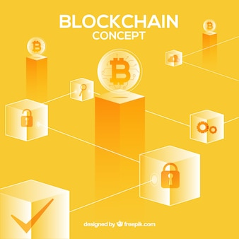 Blockchain-konzept