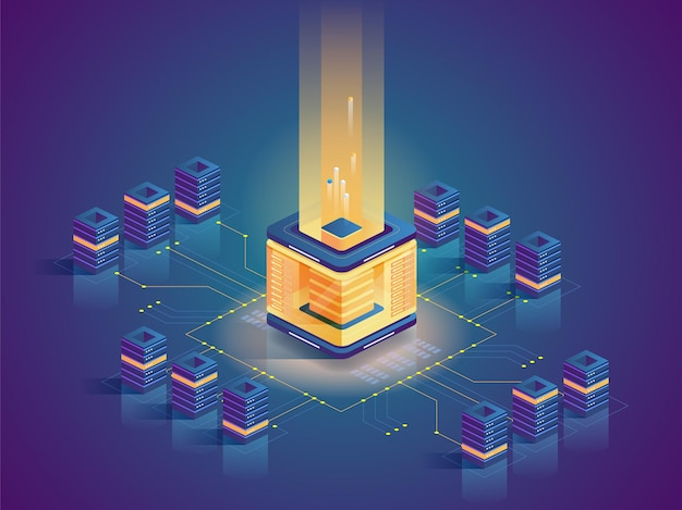 Blockchain-technologie, modernes geschäft, e-commerce. virtuelles geld, elektronische währung