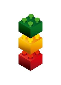 Blöcke, um design zu bauen