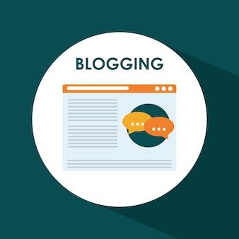 Blog, blogging und blogglers theme