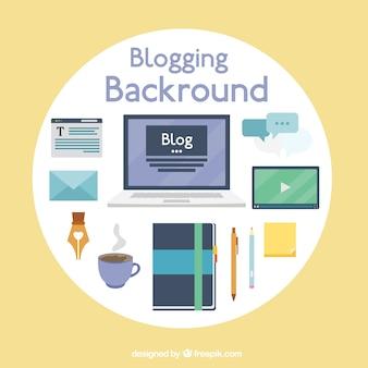 Blog-element sammlung