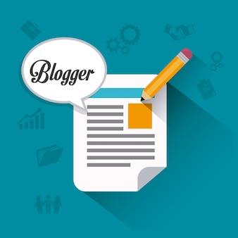 Blogger digitales design.