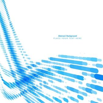 Blue abstract eleganten hintergrund design