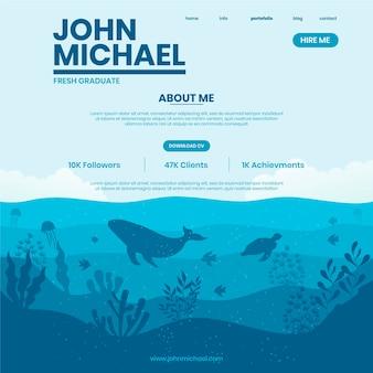 Blue ocean restaurant online-lebenslauf