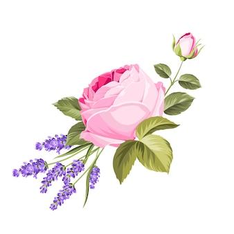 Blühende frühlingsblumen.