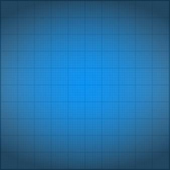 Blueprint hintergrund mit vignettierung