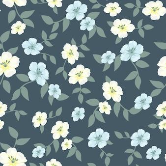 Blüte blumenmuster saison