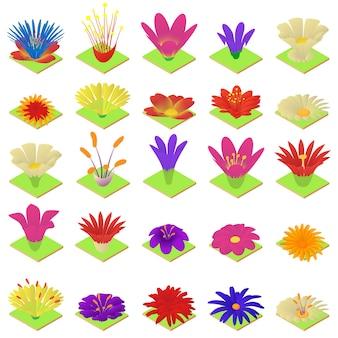 Blüte-icon-set