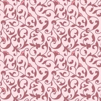 Blume nahtlose muster hintergrund. elegante textur für hintergründe.