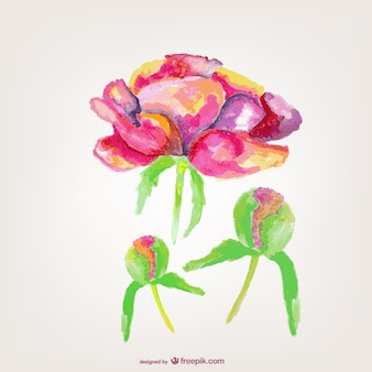 Blume vektor-grußkarte kostenlos