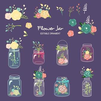 Blumen-glas