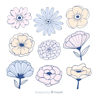 Blumen-kollektion