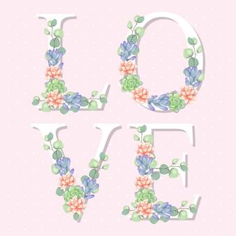 Blumen liebesbrief