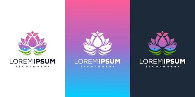 Blumen-lotus-logo-design