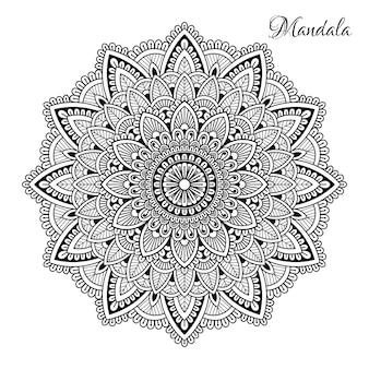 Blumen-mandala.