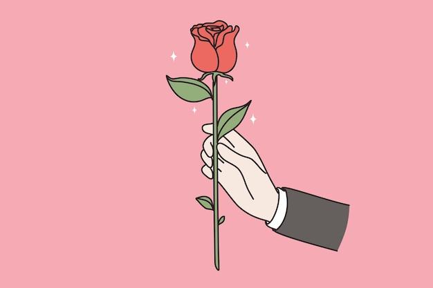 Blumen schenken als geschenkkonzept