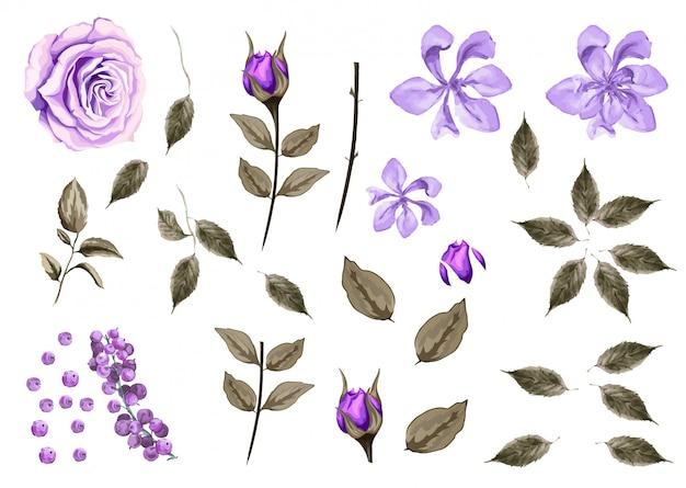 Blumen und rahmen