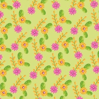 Blumen verlässt die natur