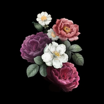 Blumenabbildung