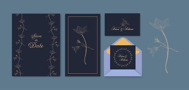 Blumenabwehr das datumskartenset