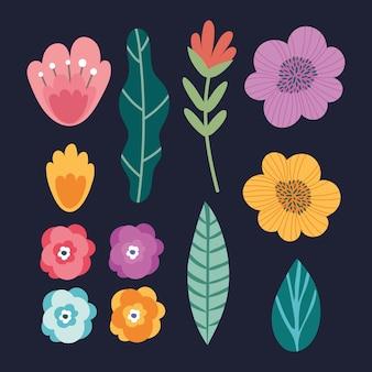 Blumenbündel garten set
