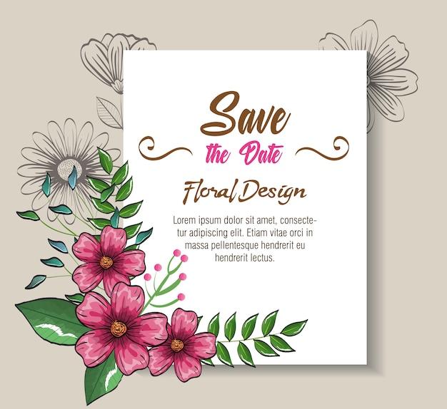 Blumendekorationsflieger postkarten vintage art