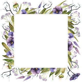 Blumendesign mit blumenmotiven