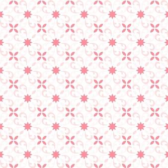 Blumenfliesenmuster des hintergrundes. buntes fliesenmuster mit dekorativen blumen