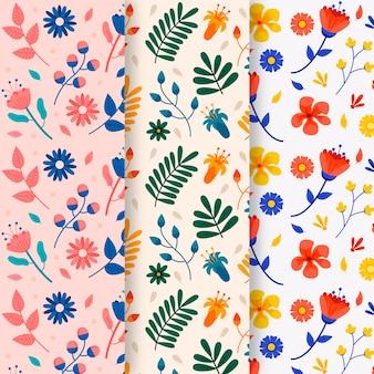 Blumenfrühlings-mustersammlung