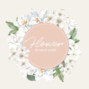 Blumenfrühlingsrahmen