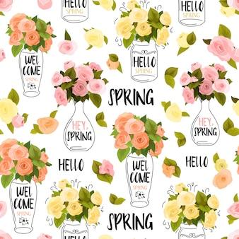 Blumengrußkarte hintergrund