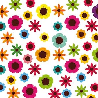 Blumenhintergrund design