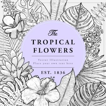 Blumenhintergrunddesign