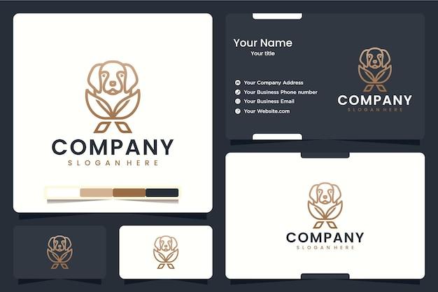 Blumenhund, logo-design-inspiration