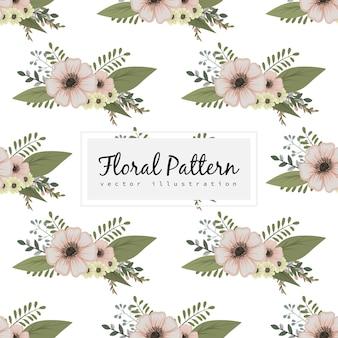 Blumenillustrationsmuster