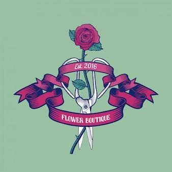 Blumenladenillustration