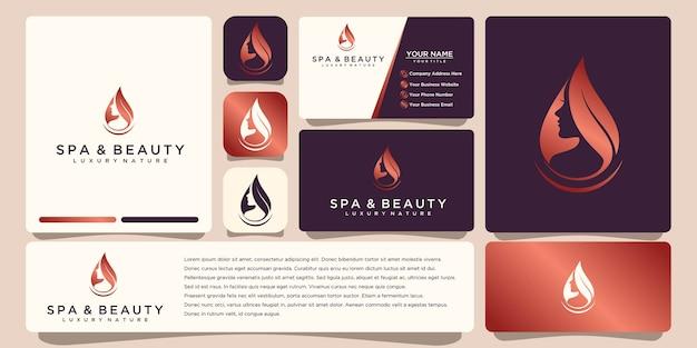 Blumenlogodesign mit strichgrafikstil. logos können für spa beauty salon dekoration boutique verwendet werden. und visitenkarte