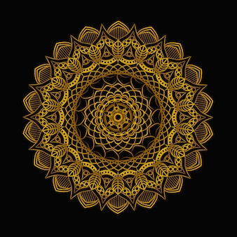 Blumenmandala-muster