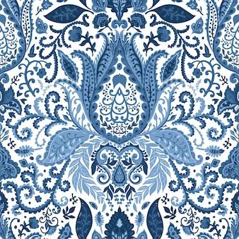Blumenmotiv blühende blumen ornamente vektor