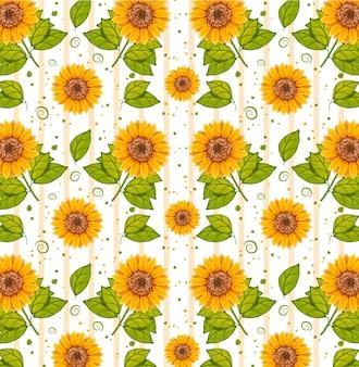 Blumenmuster für design- und layouttapeteneinladung