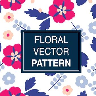Blumenmuster-illustration