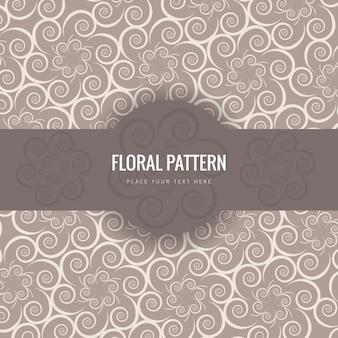 Blumenmuster im viktorianischen stil