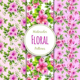 Blumenmuster-sammlung