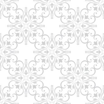 Blumenmustertapeten im stil des barock. kann für hintergründe und seitenfüll-webdesign verwendet werden