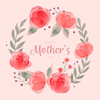 Blumenmuttertagsillustration