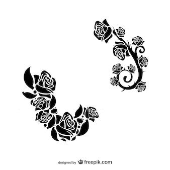 Blumenornamente downloaden