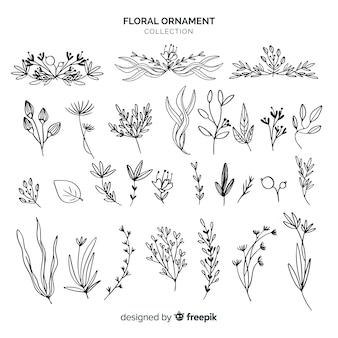Blumenornamente sammlung