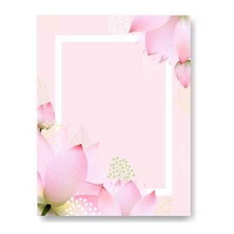 Blumenpostkarte